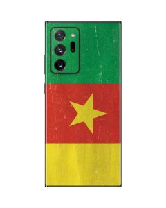 Cameroon Flag Distressed Galaxy Note20 Ultra 5G Skin