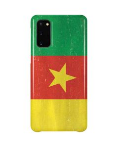 Cameroon Flag Distressed Galaxy S20 Lite Case
