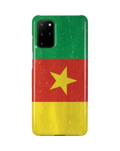 Cameroon Flag Distressed Galaxy S20 Plus Lite Case