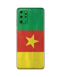 Cameroon Flag Distressed Galaxy S20 Plus Skin