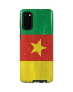 Cameroon Flag Distressed Galaxy S20 Pro Case