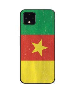 Cameroon Flag Distressed Google Pixel 4 Skin