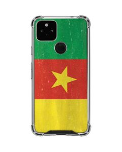 Cameroon Flag Distressed Google Pixel 4a 5G Clear Case