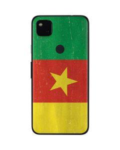 Cameroon Flag Distressed Google Pixel 4a Skin