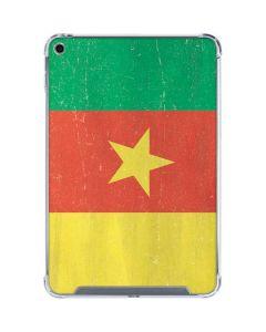 Cameroon Flag Distressed iPad Mini 5 (2019) Clear Case