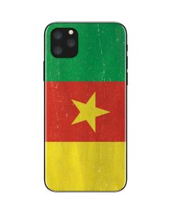 Cameroon Flag Distressed iPhone 11 Pro Max Skin