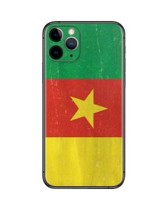 Cameroon Flag Distressed iPhone 11 Pro Skin