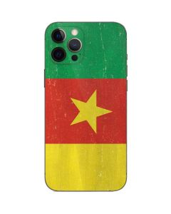 Cameroon Flag Distressed iPhone 12 Pro Skin