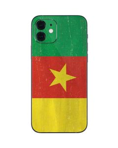 Cameroon Flag Distressed iPhone 12 Skin
