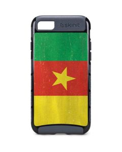 Cameroon Flag Distressed iPhone 8 Cargo Case