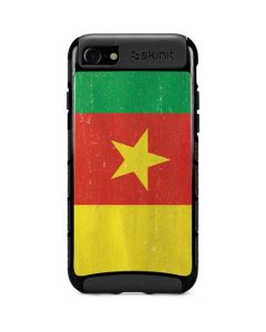 Cameroon Flag Distressed iPhone SE Cargo Case