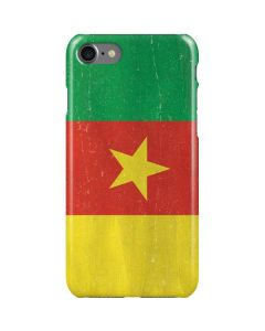 Cameroon Flag Distressed iPhone SE Lite Case