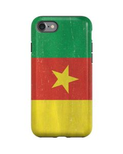 Cameroon Flag Distressed iPhone SE Pro Case