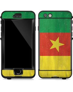 Cameroon Flag Distressed LifeProof Nuud iPhone Skin
