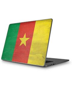 Cameroon Flag Distressed Apple MacBook Pro 17-inch Skin