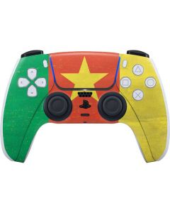Cameroon Flag Distressed PS5 Controller Skin