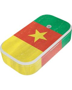 Cameroon Flag Distressed UV Phone Sanitizer and Wireless Charger Skin