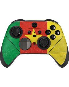 Cameroon Flag Distressed Xbox Elite Wireless Controller Series 2 Skin