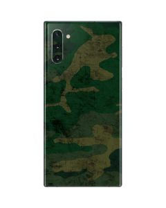 Camouflage Galaxy Note 10 Skin