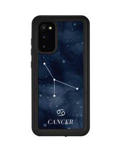 Cancer Constellation Galaxy S20 Waterproof Case