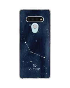Cancer Constellation LG Stylo 6 Clear Case