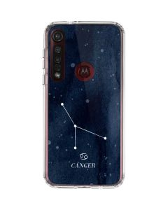 Cancer Constellation Moto G8 Plus Clear Case