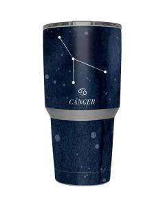 Cancer Constellation Yeti 30z Rambler Tumbler Skin