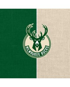 Milwaukee Bucks Split Canvas Otterbox Symmetry Galaxy Skin