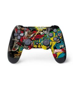 Captain America And Falcon PS4 Pro/Slim Controller Skin
