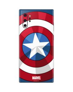 Captain America Emblem Galaxy Note 10 Plus Skin