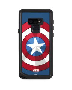Captain America Emblem Galaxy Note 9 Waterproof Case