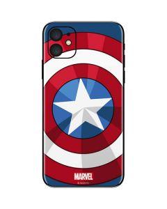 Captain America Emblem iPhone 11 Skin
