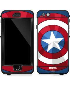 Captain America Emblem LifeProof Nuud iPhone Skin