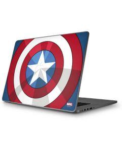 Captain America Emblem Apple MacBook Pro 17-inch Skin