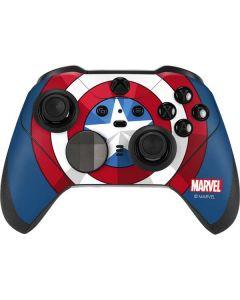 Captain America Emblem Xbox Elite Wireless Controller Series 2 Skin
