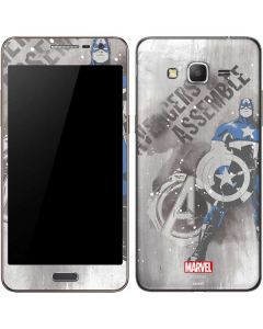 Captain America is Ready Galaxy Grand Prime Skin