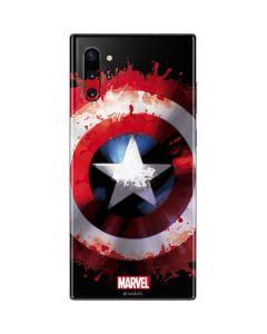 Captain America Shield Galaxy Note 10 Plus Skin