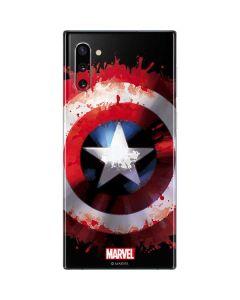 Captain America Shield Galaxy Note 10 Skin