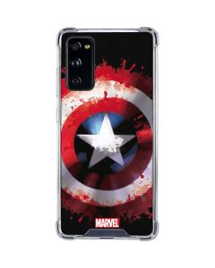 Captain America Shield Galaxy S20 FE Clear Case