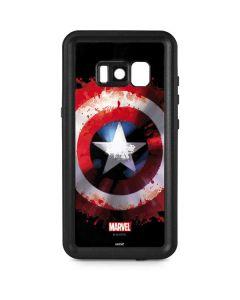 Captain America Shield Galaxy S8 Plus Waterproof Case