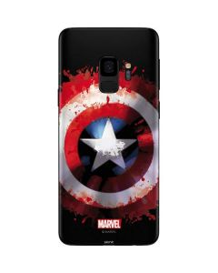 Captain America Shield Galaxy S9 Skin