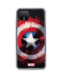 Captain America Shield Google Pixel 4 XL Clear Case