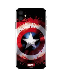 Captain America Shield iPhone 11 Skin