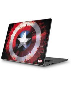 Captain America Shield Apple MacBook Pro 17-inch Skin