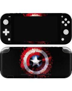 Captain America Shield Nintendo Switch Lite Skin