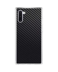Carbon Fiber Galaxy Note 10 Clear Case