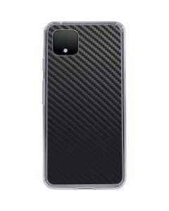 Carbon Fiber Google Pixel 4 Clear Case