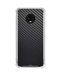 Carbon Fiber Moto G6 Clear Case