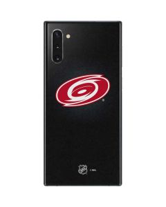 Carolina Hurricanes Black Background Galaxy Note 10 Skin