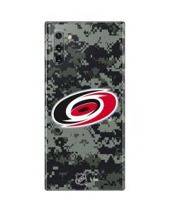 Carolina Hurricanes Camo Galaxy Note 10 Skin